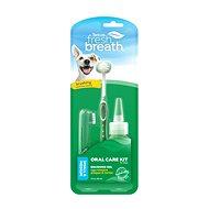 Sada pro dentální hygienu Tropiclean zubní péče M - Sada pro dentální hygienu