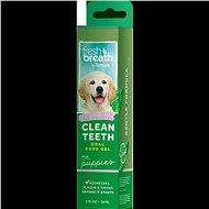 Prostředek na zuby Tropiclean čistící gel Fresh Breath pro štěňata 59 ml - Prostředek na zuby