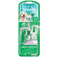 Tropiclean Set for Brushing Teeth, Fresh Breath, for Puppies - Dental Care