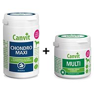 Canvit Chondro Maxi 230 g + Canvit Multi 100 g zdarma