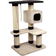 Magic Cat Odpočívadlo MC Valerie 80×60×121cm béžovo-hnědé - Škrabadlo pro kočky