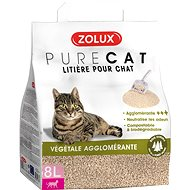 Zolux PURECAT Clumping Plant 8l - Cat Litter