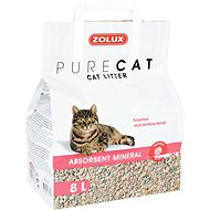 Zolux PURECAT scented absorbent 8l - Stelivo pro kočky