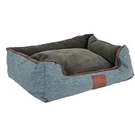 Akinu Chester Dog Bed S Brown/Grey - 55 × 50 × 20cm - Bed for Dogs and Cats