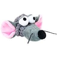 Akinu myš uzel bavlna/plyš pro psy - Hračka pro psy