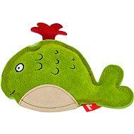 Akinu hračka velryba Premium kůže zelená - Hračka pro psy