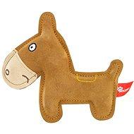 Akinu hračka oslík Premium kůže hnědý - Hračka pro psy