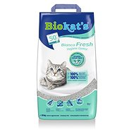 Biokat´s bianco fresh control 10kg - Cat Litter
