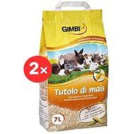 Gimborn Corn Bedding 2 × 7l - Cat Litter