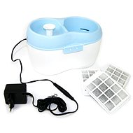 Akina Fountain H2O for Cats and Small Dogs, 12V Adapter - Fountain for Cats