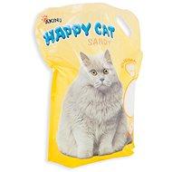 Akinu Happy Cat 7,2l Sandy (jemný 0,5-2mm) - Stelivo pro kočky