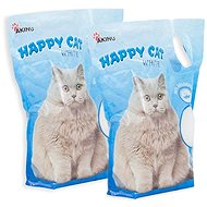 Akinu Happy Cat White 2 × 3.6l - Cat Litter