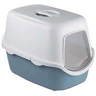 Stefanplast Cathy ocelově modrá 56 × 40 × 40 cm - Kočičí toaleta