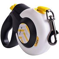 Fida Autobrake Samonavíjecí vodítko páskové bílé S / do 12 kg - Vodítko