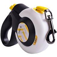 Vodítko Fida Autobrake Samonavíjecí vodítko páskové bílé M / do 25 kg - Vodítko