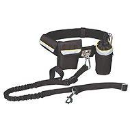 Trixie Hands Free Belt 100-135cm × 2.5cm with a Leash 60-120cm - Dog Leash