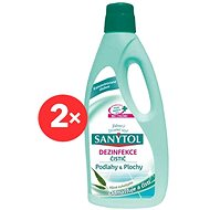 Sanytol Dezinfekce na podlahy a plochy 2× 1 l - Čisticí prostředek