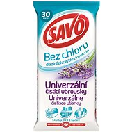 Savo Chlorine-Free Universal Cleaning Disinfectant Wipes, Lavender, 30pcs - Wet Wipes