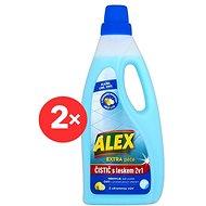ALEX 2v1 na lino a dlažbu 2× 750 ml