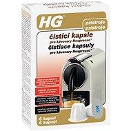HG čisticí kapsle pro kávovary Nespresso® 6 ks - Čisticí prostředek