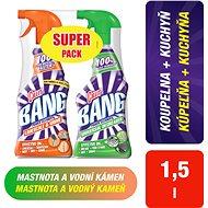 CILLIT Bang Spray 750 ml + Odmašťovač 750 ml - Čisticí prostředek