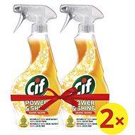 CIF Power & Shine Kuchyň 2 × 500 ml - Čistič kuchyní