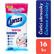 LANZA Washing Machine Cleaner Wipes 16 ks - Čisticí ubrousky