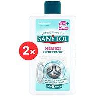SANYTOL Dezinfekce čistič pračky 2× 250 ml - Čistič pračky