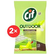 CIF Outdoor Furniture Wipes 2 × 15 ks - Čisticí ubrousky