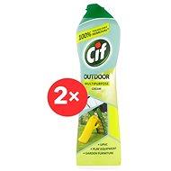 CIF Outdoor Multipurpose Cream 2 × 450 ml - Čisticí prostředek