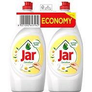 Prostředek na nádobí JAR Sensitive Chamomile & Vitamin E 2× 900 ml - Prostředek na nádobí