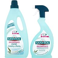 SANYTOL Duopack Disinfection Floors + Universal Spray - Toiletry Set