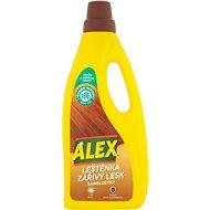 ALEX Leštěnka a zářivý lesk na dřevo a laminát 750 ml