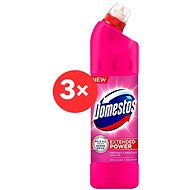 DOMESTOS Extended Pink 3 x 750 ml