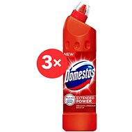 DOMESTOS Extended Red 3 x 750 ml