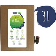 AlzaEco na toalety 3 l - Eko čisticí prostředek