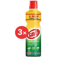 SAVO Prim Květinová vůně 3× 1,2 l - Dezinfekce
