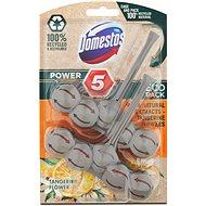DOMESTOS Power 5 Tangerine 2× 55g - Toilet Cleaner