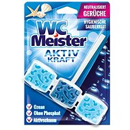 WC MEISTER AKTIV KRAFT Tuhý WC blok 1 x 45 g Vůně WC MEISTER blok: Ocean (modrá) – oceán - WC blok