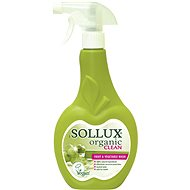 SOLLUX Organic Clean for Washing Fruits and Vegetables 500ml - Eco-Friendly Cleaning Agent