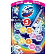 DOMESTOS Power 5 Unicorn 2 × 55 g - WC blok