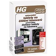 HG Univerzální tablety na čištění kávovarů 10 ks - Čisticí prostředek
