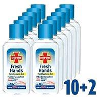 LYSOFORM Fresh Hands Hygienický gel na ruce 12× 50 ml - Antibakteriální gel