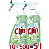 CLINProNature čistič oken 10× 500 ml  - Eko čisticí prostředek