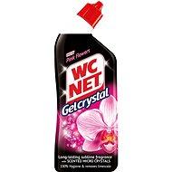 WC NET Gel Crystal Pink Flowers 750 ml  - WC čistič