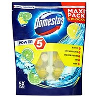 DOMESTOS Power 5 Lime 5 x 55g - WC blok