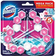 DOMESTOS Power 5 Magnolia 3 x 55g - WC blok