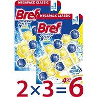 BREF Power Aktiv Lemon 6 x 50 g - Sada