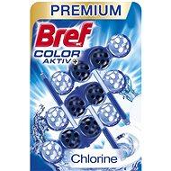 BREF Blue Aktiv Chlorin 3 x 50 g - WC blok