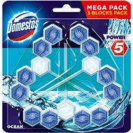 DOMESTOS Power 5 Ocean 3 x 55 g - WC blok